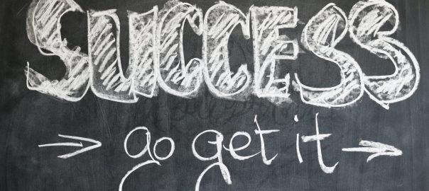 Motivational Maps, success go get it táblára írva